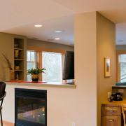 Delgado Architect Renovation - Built in Desk