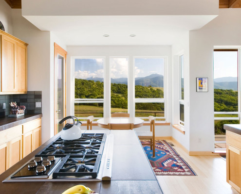 Delgado Architect Ashland Kitchen Dining with Drop Ceiling