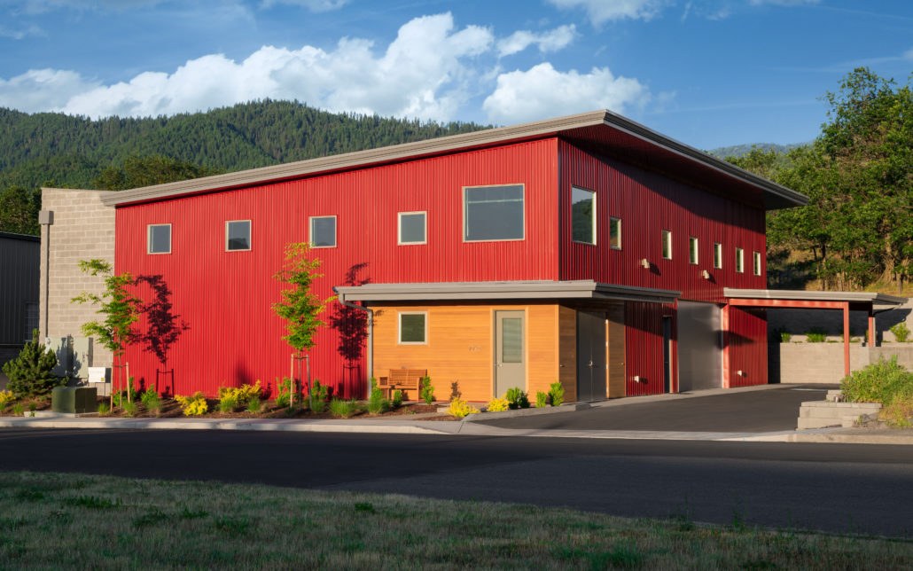 Delgado Architect - Commercial Metal Building