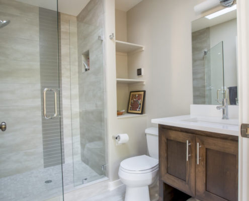 Ashland OR Craftsman Renovation Master Bathroom