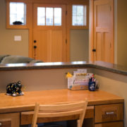 Delgado Architect Renovation Kitchen Desk