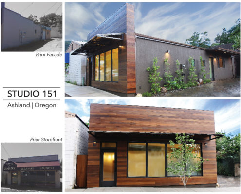 Ashland Art Studio 151 Before & After Images