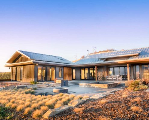 Delgado Architect Ashland KanDu Ranch Main Residence Outdoor Features