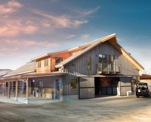 Delgado Architect Ashland Ranch Horse Barn