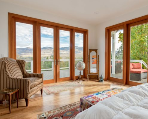 Delgado Architect Renovation Master Bedroom with View