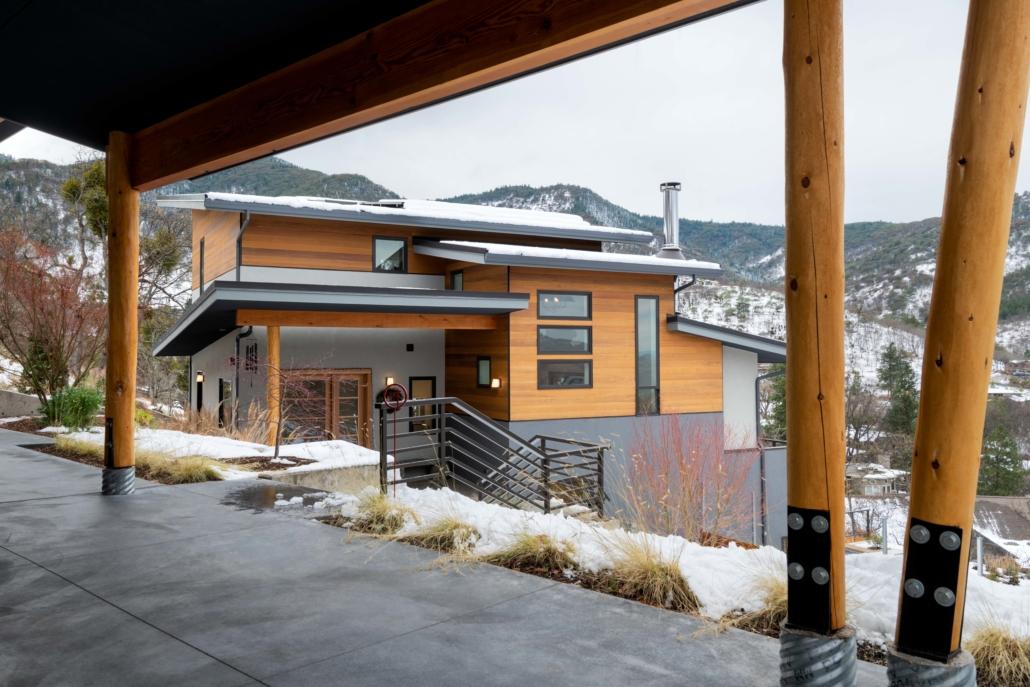 Delgado Architect Ashland Cascading Residence